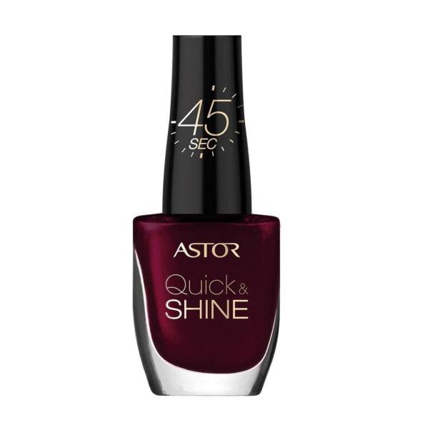 Astor Quick & Shine Nagellack, 302 Glass of wine, schnell trocknend, 1er Pack
